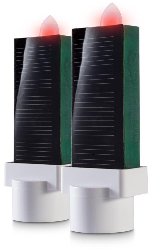Lampade votive led a pannelli solari Eternaled