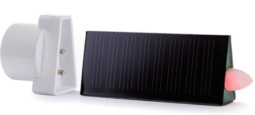 Lumino votivo led a pannelli solari
